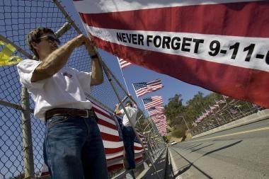 JAV minimos rugsėjo 11 d. metinės