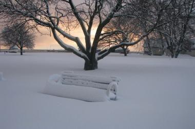 Nidoje snigo kaip prieš 70 metų