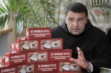 """Broliai pranciškonai ir TV3 kviečia prisidėti prie """"Vilties telemaratono"""""""