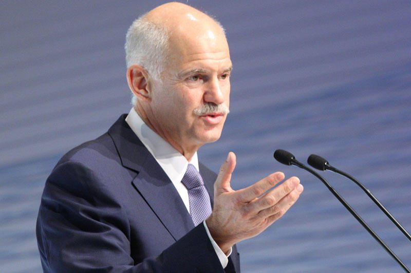 G.Papandreou nori referendumo dėl pagalbos Atėnams paketo