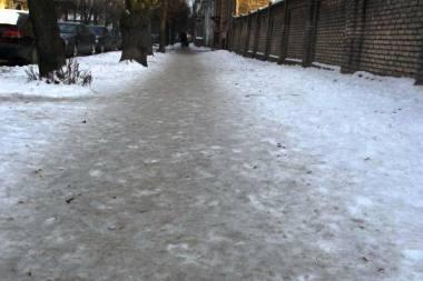 Vilniuje mirė sušalęs vyras