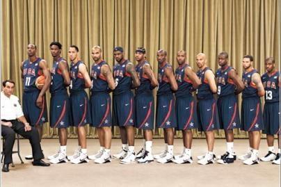 JAV krepšininkai – reklamos pinklėse