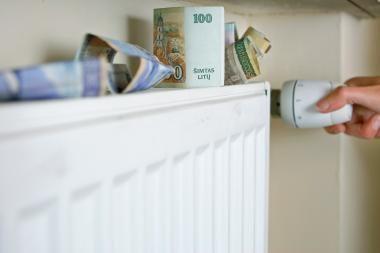 Klaipėdiečiai už šilumą skolingi milijonus
