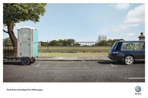 "Košmariškas automobilio statymas pagal ""Volkswagen"" (foto)"