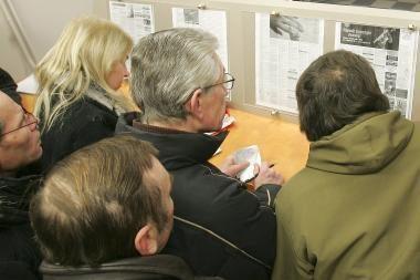 Registruotas nedarbas Latvijoje sausį augo iki 16,6 proc.