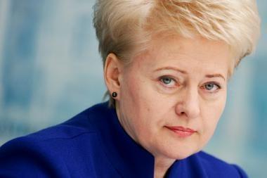 Planuojamas D.Grybauskaitės susitikimas su B.Obama