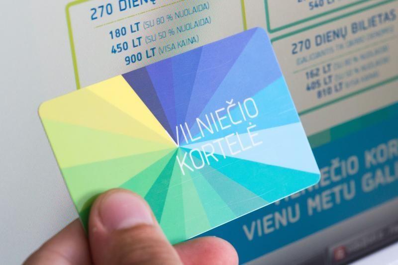 Dingę bilietėliai dvigubai išaugino Vilniečio kortelių paklausą