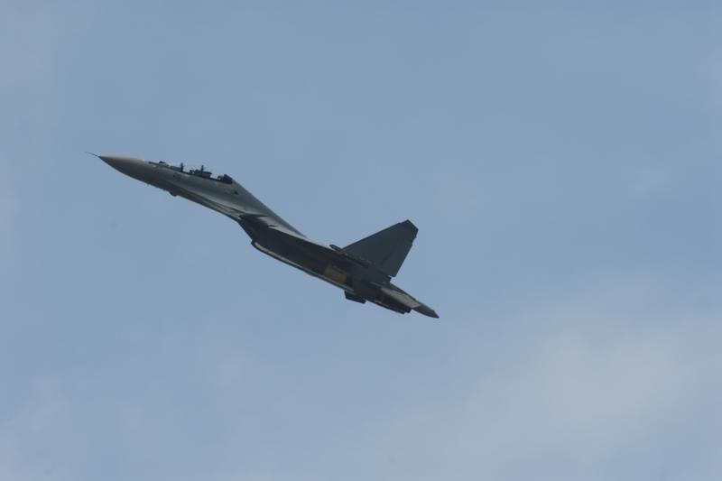 Minskas: Baltarusijos naikintuvas skrido palei sieną su Lietuvą