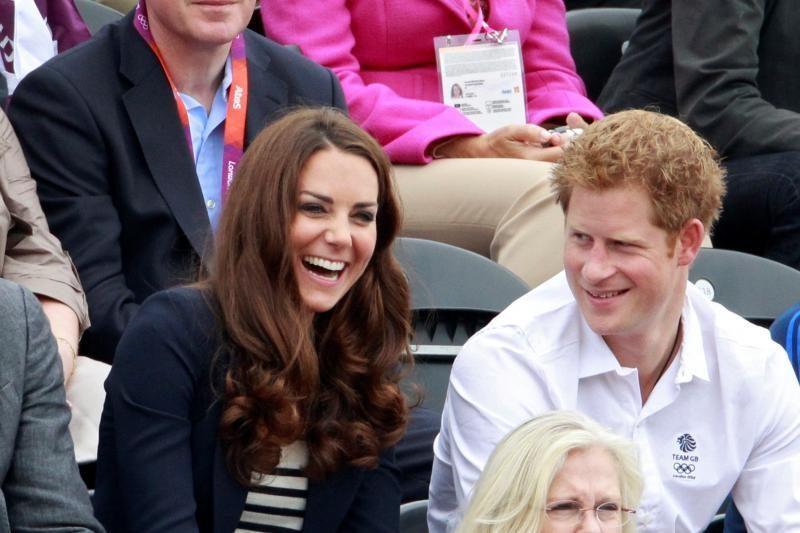 Kate Middleton ir princas Harry - elegantiškiausios garsenybės