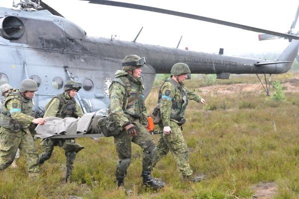 Kolektyvinės gynybos pratybose dalyvaus iki 5 tūkst. karių