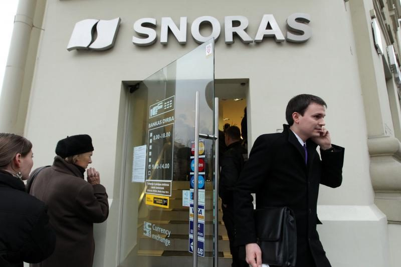 """""""Snoro"""" turto dalybos jau priešina kreditorius"""