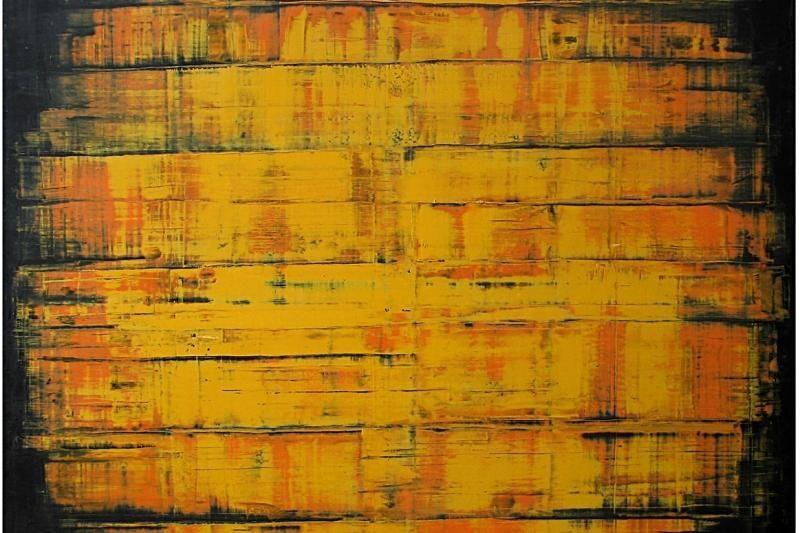 Uostamiesčio Baroti galerijoje – R.Čeponio tapyba