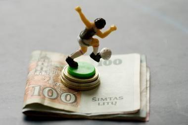 Pinigų visiems sporto atstovams neužtenka