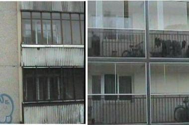 Įtikinėjimas renovavimo nauda: ministerija pateikia nuotraukas