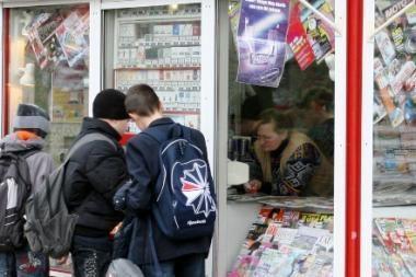 Kaune apvogtas knygynas ir spaudos kioskas