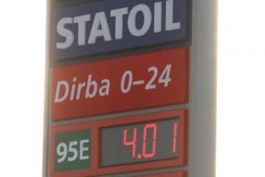 Degalų rinkoje - nauja kainų audra