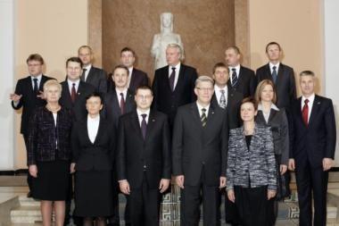 Latvija: labiausiai nekompetentingi - užsienio ir vidaus reikalų ministrai