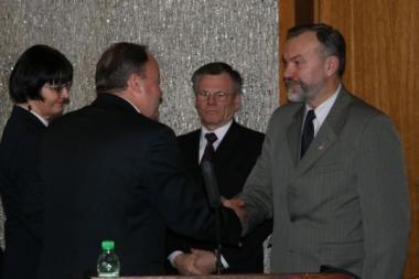 Kauno rajono taryboje – naujokas