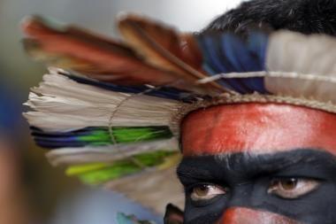 Brazilija: hidroelektrinę užėmę indėnai paleido daugumą darbininkų