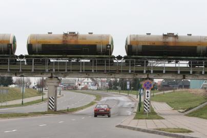Geležinkeliais pervežta 33 mln. tonų krovinių