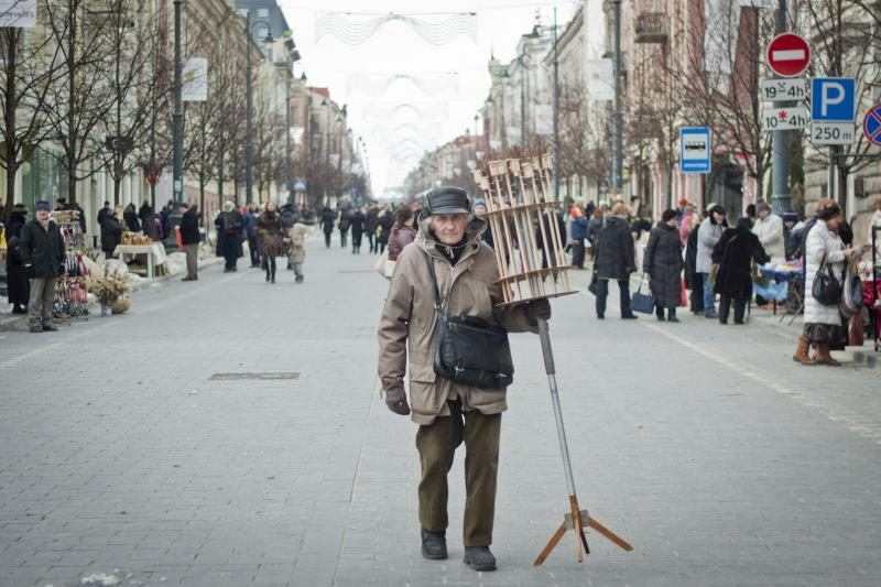 Verbų sekmadienį Vilniuje – tautodailininkai ir verbų pardavėjai