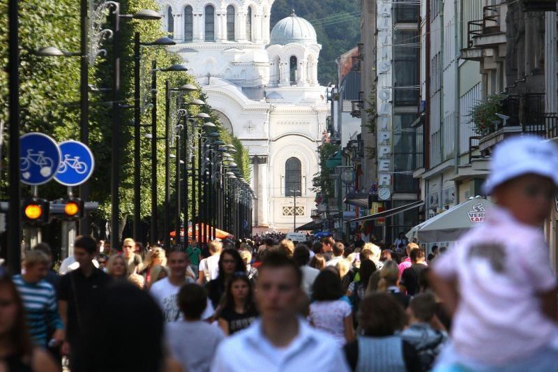 """Kaunas, vienas          didelis """"lobis"""""""