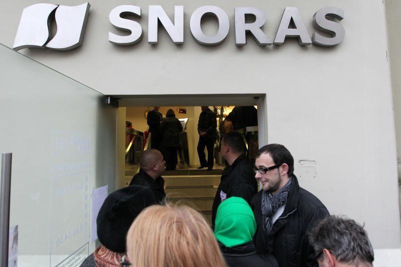 """Ketinama aiškintis, kur """"Snoro"""" administratorius išleido 60 mln. Lt"""