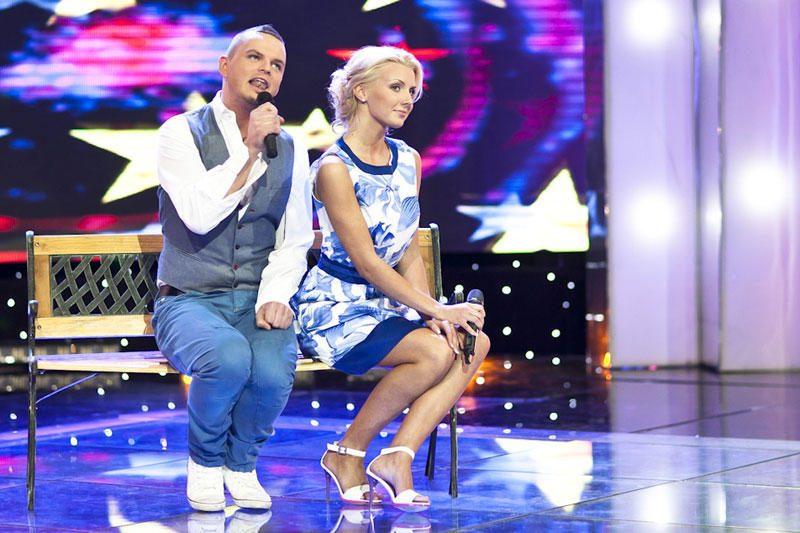"""""""Žvaigždžių duetus"""" palieka M.Kvietkutė ir R.Kirilkinas"""