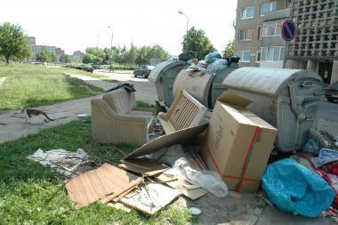 Sugriežtinta atliekų surinkimo kontrolė