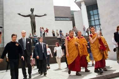 Kaune skverui suteiktas Tibeto vardas