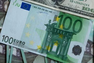 Lietuva skolinsis eurais?