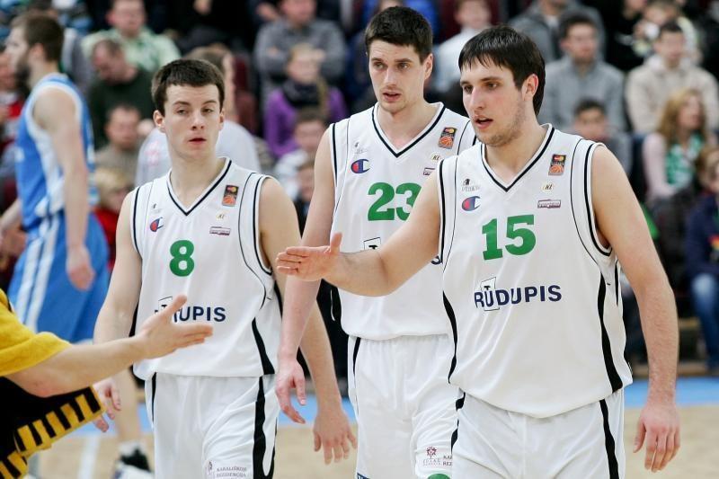 """""""Rūdupio"""" krepšininkai iškovojo trečiąją vietą BBL taurėje (papildyta)"""
