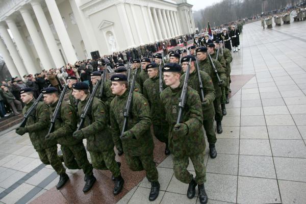 Lietuvos kariuomenės dienos renginiai Vilniuje (programa)