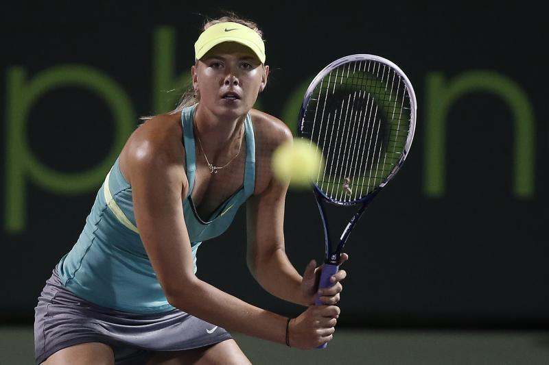 M. Šarapova žengė į Majamyje vyksiančio teniso turnyro ketvirtfinalį