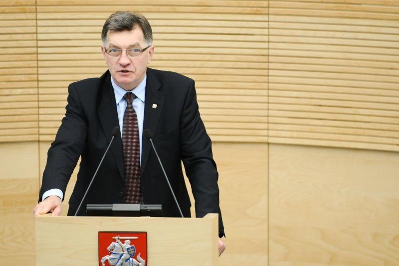 A. Butkevičius sako nematantis pagrindo Latvijos nusivylimui dėl AE