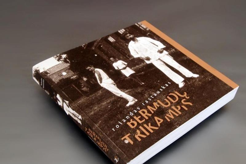 """Rolandas Rastauskas pristatys savo naują knygą """"Bermudų trikampis"""""""