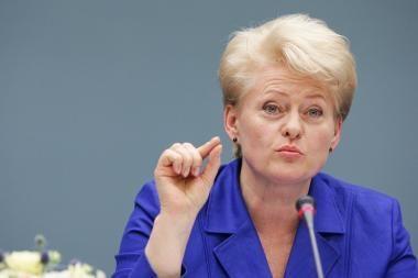 D.Grybauskaitė: vaivorykštė - ir gamtoje, ir politikoje trapus reiškinys