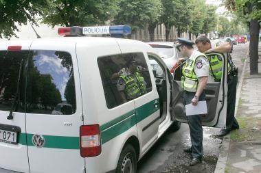 Sostinės policija sulaikė jaunuolį galimai apiplėšusius vyriškius