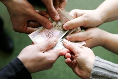 Pareikšti įtarimai asmenims, nuslėpusiems 800 tūkst. litų mokesčių