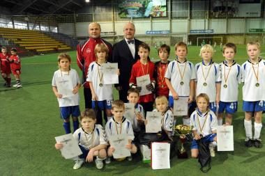 Vilniuje vyko vaikų futbolo turnyras