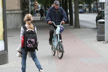 Vilniuje žadama atnaujinti dviračių takus, įrengti 12 km naujų trasų
