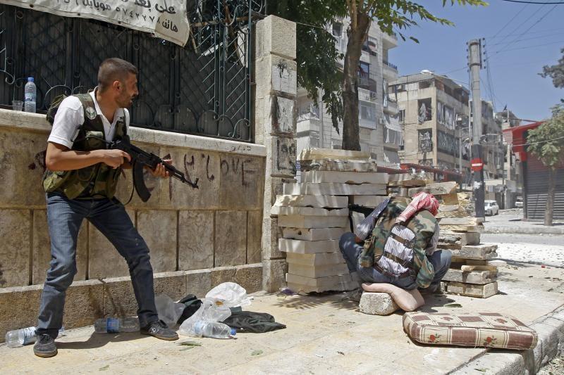 Sirijos ir Jordanijos pajėgos susirėme abiejų šalių pasienyje