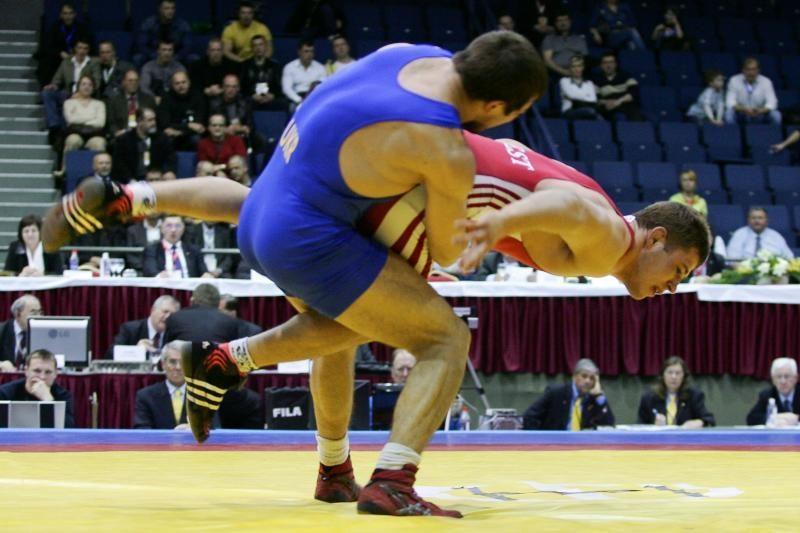 N.Ilkevičius - pasaulio veteranų imtynių čempionas