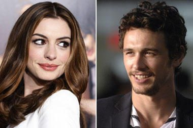"""Oskarų"" teikimo ceremoniją ves J.Franco ir A.Hathaway"
