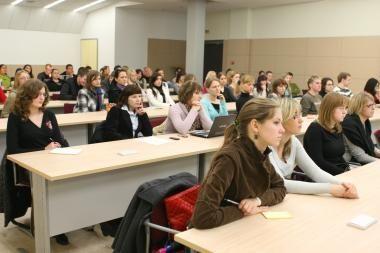KU studentams – STT paskaita apie korupciją
