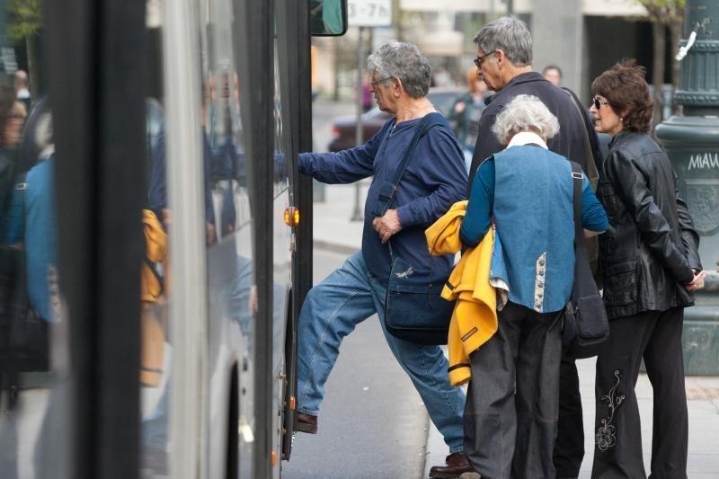 Taliną į nemokamą viešąjį transportą