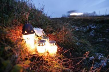 Panevėžio rajone mirė vilkiko partrenkta moteris