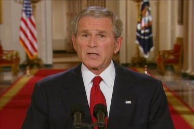 JAV prezidentas įspėjo apie katastrofiškas dvejojimo pasekmes
