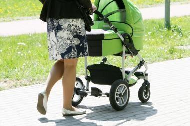 Dėl motinystės išmokų mažinimo prašoma Konstitucinio Teismo sprendimo