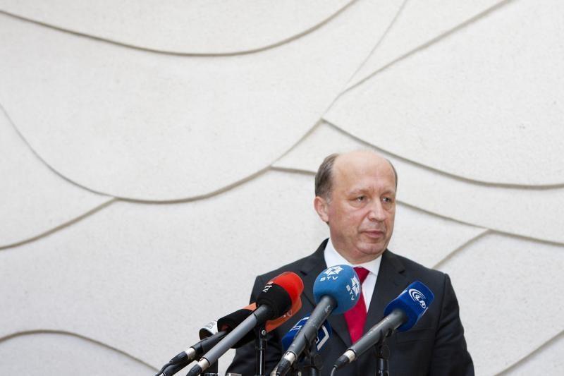 Premjeras: finansų rinkos baustų Lietuvą už politikų neryžtingumą